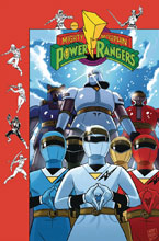 Image: Mighty Morphin Power Rangers #26 (subscription cover - Gibson) - Boom! Studios