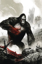 Image: Kong on The Planet of Apes #6 - Boom! Studios
