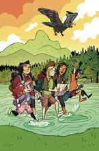 Image: Lumberjanes #49 (subscription cover - Dozerdraws) - Boom! Studios