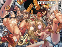 Image: Lookers Ember #9 (variant cover - wraparound) - Boundless Comics