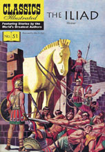 Image: Classic Illustrated: Iliad SC  - Classics Illustrated