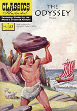 Image: Classic Illustrated: Odyssey SC  - Classics Illustrated