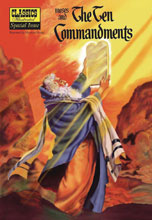 Image: Classic Illustrated: Moses & Ten Commandments SC  - Classics Illustrated