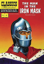 Image: Classic Illustrated: Man in Iron Mask HC  - Classics Illustrated