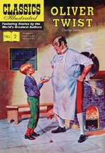 Image: Classic Illustrated: Oliver Twist HC  - Classics Illustrated
