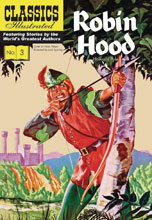 Image: Classic Illustrated: Robin Hood HC  - Classics Illustrated