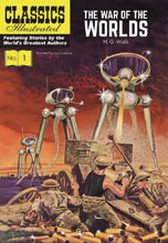 Image: Classic Illustrated: War of Worlds HC  - Classics Illustrated