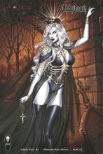 Image: Lady Death: Unholy Ruin #1 (variant cover - Momento Mori) - Coffin Comics
