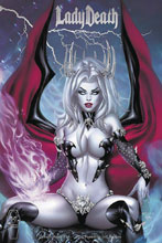 Image: Lady Death: Unholy Ruin #1 (variant cover - Ebas Premium Foil) - Coffin Comics