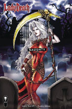 Image: Lady Death: Unholy Ruin #1 (variant cover - Naughty) - Coffin Comics