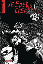 Image: Jeepers Creepers #1 (cover F incentive - Jones B&W) (25-copy) - Dynamite