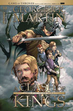 Image: Game of Thrones: Clash of Kings #10 (cover B - Rubi) - Dynamite