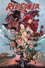 Image: Red Sonja #16 (cover E subscription - Gomez) - Dynamite