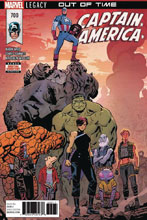 Image: Captain America #700 (DFE Gold signed - Mark Waid) - Dynamic Forces