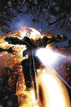 Image: Damnation: Ghost Rider #1 (DFE signed - Chris Sebela) - Dynamic Forces