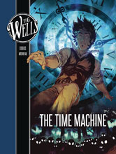 Image: H.G. Wells: Time Machine GN  - Insight Comics