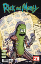 Image: Rick & Morty #37 (cover B - Vasquez) - Oni Press Inc.