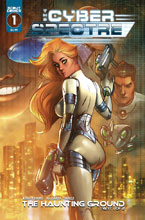 Image: Cyber Spectre #1 (cover A - Ale Graza) - Scout Comics
