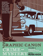 Image: Graphic Canon of Crime & Mystery Vol. 02 SC  - Seven Stories Press