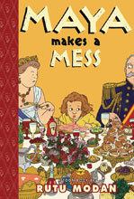 Image: Maya Makes a Mess SC GN  (Young Readers) - Toon Books