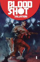 Image: Bloodshot Salvation #8 (cover B - Guedes) - Valiant Entertainment LLC