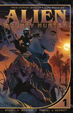 Image: Alien: Bounty Hunter SC  - Vault Comics