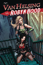 Image: Van Helsing vs. Robyn Hood #4 (cover D - Riveiro) - Zenescope Entertainment Inc