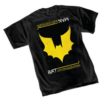 Image: Bat-Man T-Shirt  (L) - Graphitti Designs