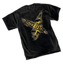 Image: Justice League T-Shirt: Symbols  (M) - Graphitti Designs