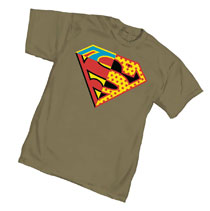 Image: Superman T-Shirt: Universal Symbol  (L) - Graphitti Designs