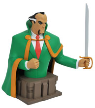 Image: Batman The Animated Series Bust: Ras Al Ghul  - Diamond Select Toys LLC