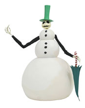 Image: Nightmare Before Christmas Deluxe Doll: Jack Snowman  - Diamond Select Toys LLC