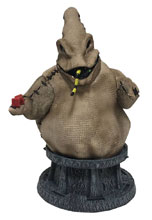 Image: Nightmare Before Christmas Resin Bust: Oogie Boogie  - Diamond Select Toys LLC