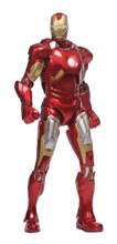 Image: Iron Man 3 Diecast Action Figure: Mark 7  (1/12 scale) - Comicave Toys Lcc