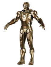 Image: Iron Man 3 Diecast Action Figure: Mark XXI Midas  (1/12 scale) - Comicave Toys Lcc