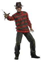 Image: Nightmare on Elm Street Action Figure: 30th Anniversary Ultimate Freddy  (7-inch) - Neca