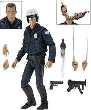 Image: Terminator 2 Action Figure: Ultimate T-1000  (7-inch) - Neca