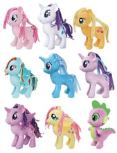 Image: My Little Pony 5-Inch Small Plush Assortment 201801  - Hasbro Toy Group
