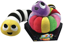 Image: Slither.Io 24-Inch Bendable Plush 8-Piece Assortment  - Ucc Distributing
