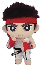 Image: Street Fighter Plush: Ryu  - Great Eastern Entertainment