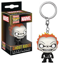 Image: Pocket Pop! Agents of Shield Vinyl Figure Keychain: Ghost Rider  - Funko