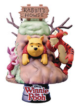 Image: Winnie the Pooh Statue: DS-006 D-Select Series  (6-inch) - Beast Kingdom Co., Ltd