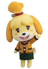 Image: Animal Crossing: New Leaf Nendoroid - Shizue Isabelle  (Winter version) - Good Smile Company