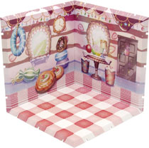 Image: Dioramansion 150 Figure Diorama: Candy Room  - Plm