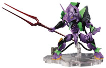 Image: Evangelion Nxedge Style Action Figure: Eva First Unit  (TV version) - Tamashii Nations