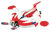 Image: Grendizer Die-Cast Ejectable with Spacer  (20th Anniversary Anime edition) - Pbm Express Usa LLC