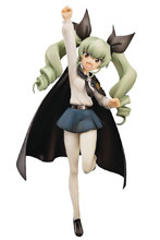 Image: Girls Und Panzer PVC Figure: Anchovy  (1/8 scale) - Aqua Marine