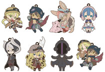 Image: Made in Abyss Niitengomu Rubber Strap 8-Piece Display  - Chara-Ani