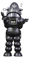 Image: Forbidden Planet Die-Cast PX Figure: Robby Robot  (Black) - X Plus