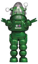 Image: Forbidden Planet Soft Vinyl PX Figure: Robby Robot  (Green) - X Plus